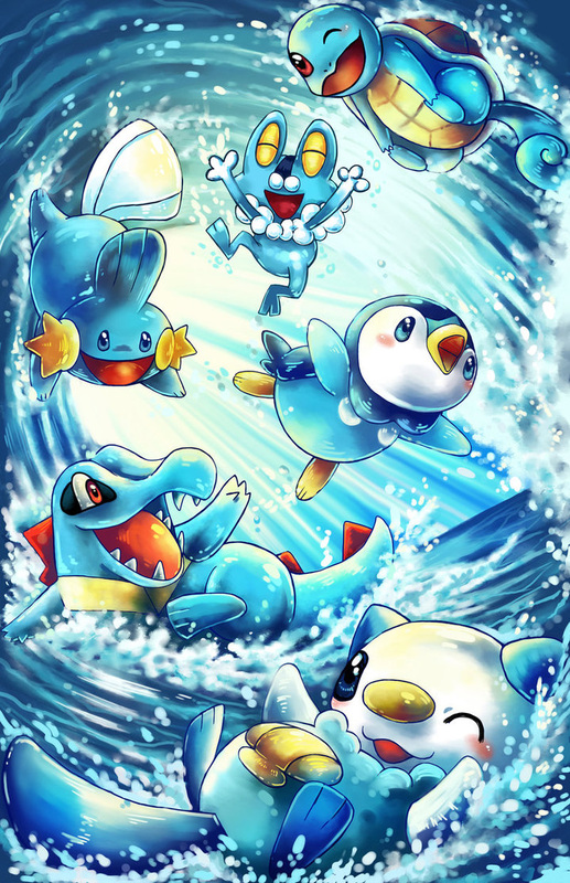 category all water pokemon starter pokelogic blog
